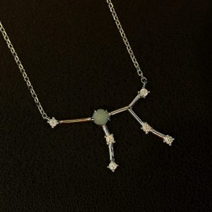 Amazonit Silberanhänger Jungfrau